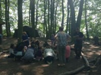 Fun in the woods at Woodland Adventurers