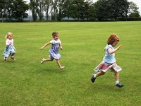Running on The Lye Field