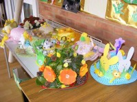 Easter Bonnets ready for the parade