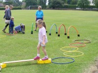 More of the sponsored activity circuit at playgroup